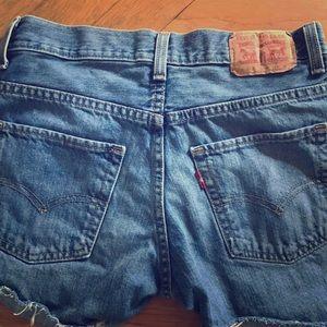 LEVI'S Jean shorts 27